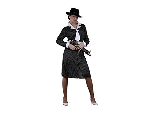 Juguetes Fantasia - Disfraz gangster mujer adulto
