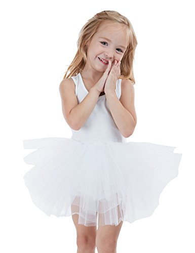 Skirted Camisole AUKARENY Dance Leotard for Girls Dance Dress Ballet