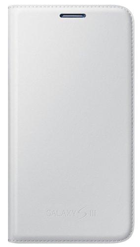 Samsung Hülle Schutzhülle Flip Wallet Case Cover für Samsung Galaxy S3 - Weiß