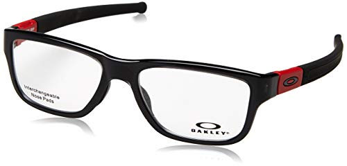 Oakley 8091 809103, Monturas de Gafas para Hombre, Polished Black Ink, 53