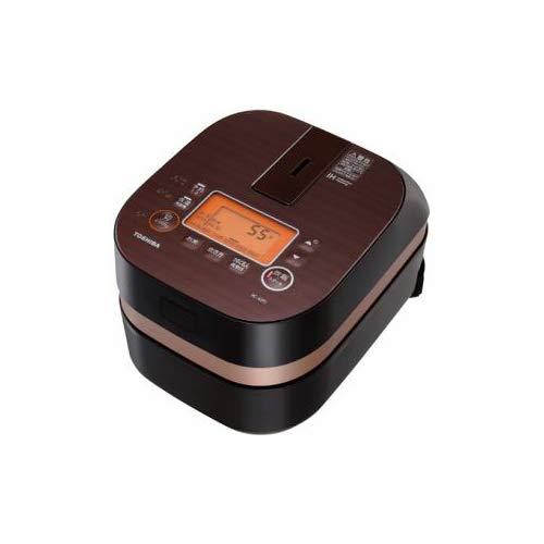 "Toshiba IH rice cooker ""Binchoutan Kamado Honhagama"" (2.5 Go) RC-4ZPJ-T Gran Brown (Japan domestic product)"