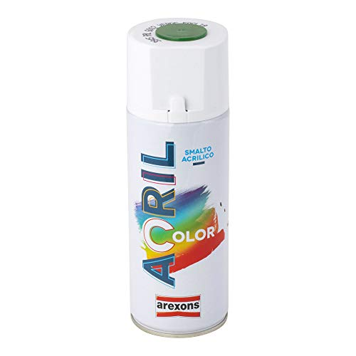 Arexons RXS104 3945 Acrilcolor RAL 6002, Verde Foglia, 400 ml