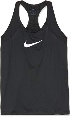 Nike Damen Top Pro, Black/White, 1X, AA9683-010