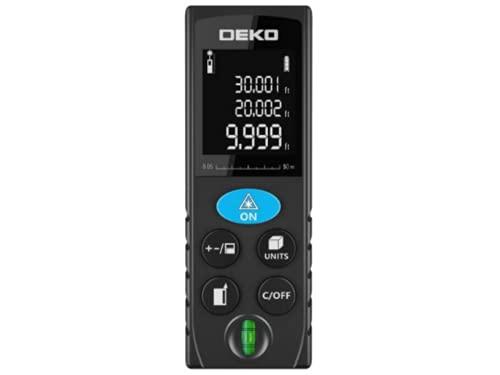 Deko - Trena Laser medidor de distância 100m com nível bolha