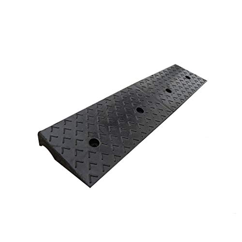 11 way bike CSQ-Ramps Service Ramps, Truck Caravan Uphill Pad Family Garage Service Ramps Enterprise Rubber Threshold Ramps Factory Loading Ramps Kerb Ramps (Size : 100 * 25 * 8CM)