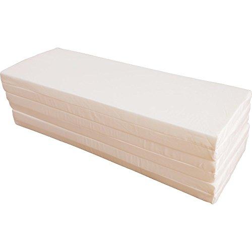 アイリスプラザ マットレス シングル 六つ折り 厚さ4cm シングル コンパクトに収納可能