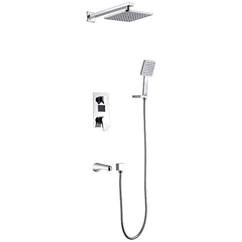 Upgrade douche Set Multifunctionele Thermostatische Douche Systeem Intelligente Digitale Touch Monitor Handdouche voor De Upscale Badkamer Douche Mixer Set
