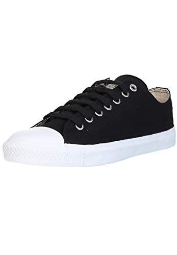 Ethletic Unisex Sneaker Lo Fair Trainer White Cap Jet Black | just White 44 Fair | Vegan | Nachhaltig
