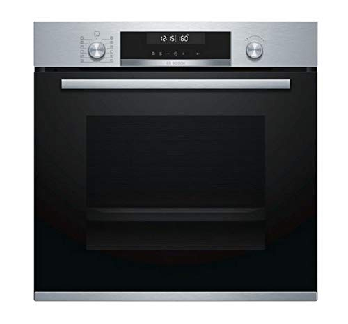 Bosch hb578bs6 multifunctionele oven, 71 l, 60 cm, pyrolyse, roestvrij staal, Serie 6