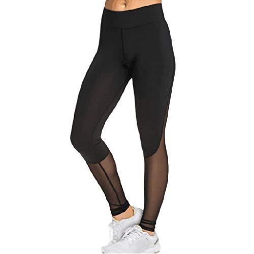Yesmile Sportswear Style Hose, Mode Mesh Leggings Fitness Sport Leggings Damen Trainingshose Turnhose Yogahosen Laufen Sportliche Hosen Sport Strumpfhose Leggings Sexy Stretch Leggings