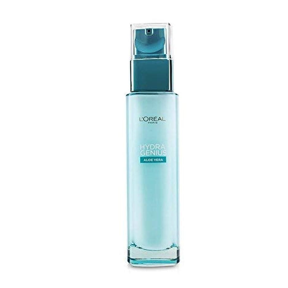 バーマド堤防適切にロレアル Hydra Genius Aloe Vera Liquid Care - For Dry & Sensitive Skin 70ml/2.3oz並行輸入品