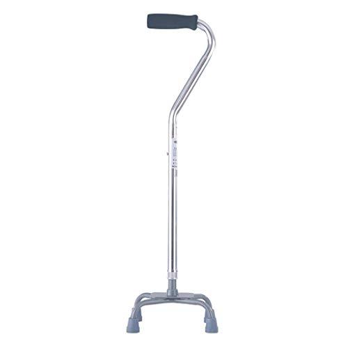 Promenad, höjdjusterbar, flexibel och hållbar promenadhjälp, rörlighetshjälp, justerbar från 28-37 tum, lätt aluminium, för män kvinnor, kryckor