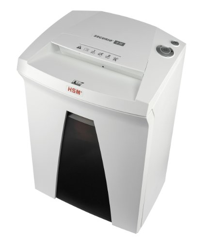 Best Deals! HSM SECURIO B24S, 22 to 24 Sheet, Strip-Cut, 9-Gallon Capacity Shredder