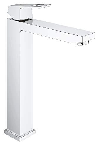 GROHE Eurocube | Badarmatur - Einhand-Waschtischbatterie, XL-Size | für freistehende Waschschüsseln| chrom | 23406000