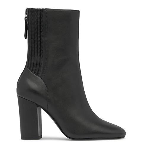ASH Jasmin laarzen zwart van zacht leer met hak - Jasmin 04 - maat