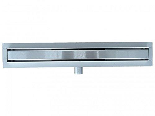 Edelstahl-Duschrinne GT02 für Duschkabine - Länge wählbar, Länge Duschrinne:600mm