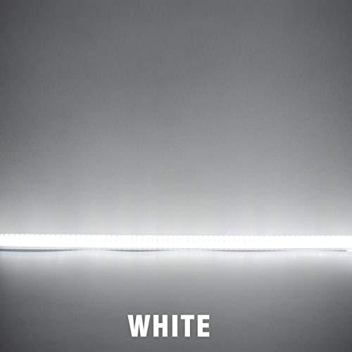 Full Spectrum Grow Lamp, Led Phyto Bar Light Warm White Grow Light Ac220V 7W Full Spectrum Low Energy Saving For Plant Growth Cabinet Lighting, 10Xmilky White 50Cm, Cold White