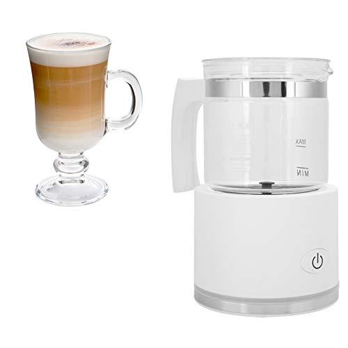 Espumador de leche, almohadilla de pie antideslizante para hacer espuma suave EU 220V 65 +/‑ 5 ℃ con contacto de microinterruptor para café con leche