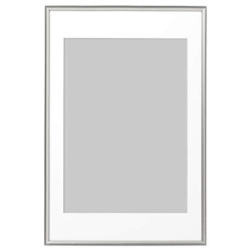 SILVERHÖJDEN ram 61 x 91 cm silverfärgad