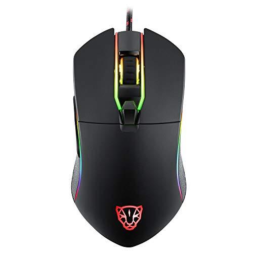 Mouse Motospeed V30 RGB Gamer com Macro