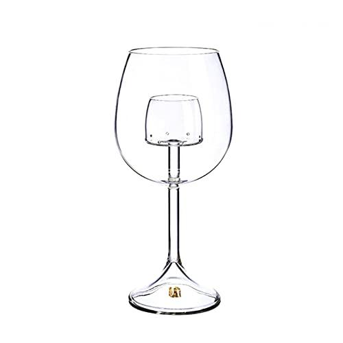 shiqi Copas de vino aireadas sin tallo de vidrio Molecular Gastronomía Bar Barmender Cerveza 35ED (Color: B)