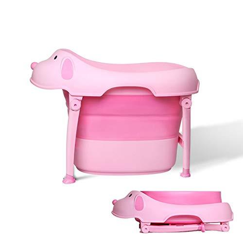Zweistufige Badewanne Baby-Klappwanne Multifunktions-Klappwanne Großer Dicker Kunststoff Rutschfester Waschtisch