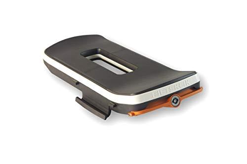 Fietsklik Klik Basismodul Adapter Fahrrad Gepäckträger Aufklicksystem Für Den Crate Fahrradkorb, Orange, 10x21,8x44,5cm