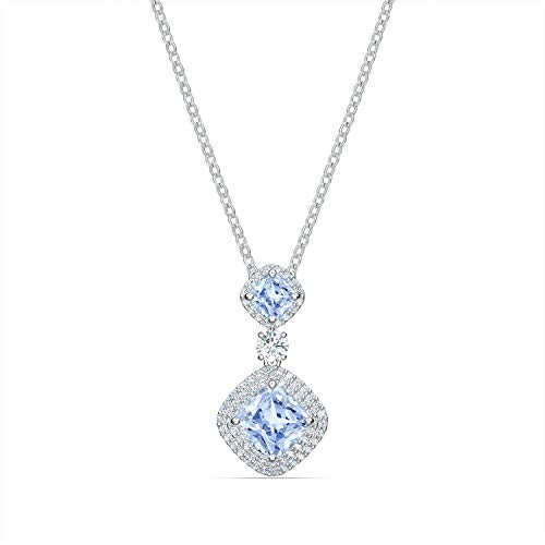 Swarovski Collier Angelic Triple Bleu
