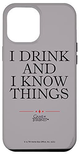 iPhone 12 Pro Max Game of Thrones I Drink Case