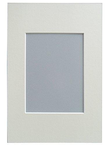 walther design Passepartout 24x30 cm, Bildformat 18x24 cm, Creme