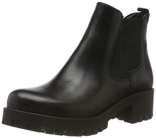 Tamaris Damen 1-1-25400-23 Stiefeletten, Schwarz (Black Leather 3), 40 EU