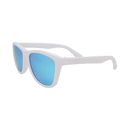 Ephiu Square Sports Polarized Sunglasses for Women and Men Mirror Lens Beach Sunglasses No Bounce No Slip for Running Cycling Fishing