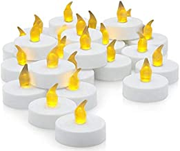 Set of 24 LED Tea Light Candles