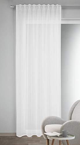 Albani Schal mit verdeckten Schlaufen Nine weiß 245x135