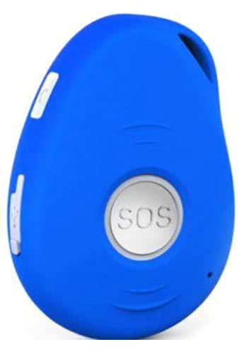 G-ASSISTANT® GPS-X/SOS/LIVETRACKING/FALLSENSOR/GEOFENCE/DEUTSCHES Manual (Oceansblue)