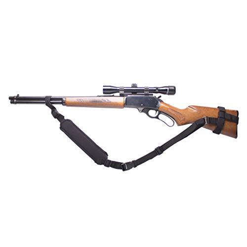 Ez GunsSling Universal Non-Swivel Gunsling (K) For Rifles,Shotguns and Favorite Firearm Black