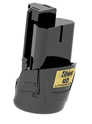 Albion Engineering 1004-3 Compact 12V Lithium-Ion Battery Pack for Use with Albion E12, E12Q, E12S20 Cordless Caulking Guns from Albion Engineering Company