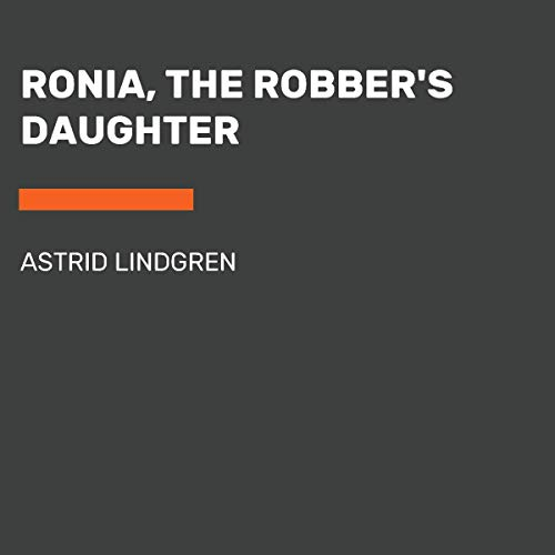 Ronia, the Robber's Daughter audiobook cover art