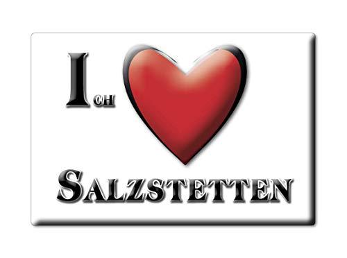 Enjoymagnets SALZSTETTEN (BW) Souvenir Deutschland Baden WÜRTTEMBERG Fridge Magnet KÜHLSCHRANK Magnet ICH Liebe I Love