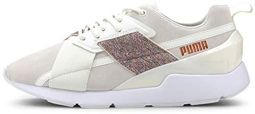 PUMA Women's Muse Sneaker, Marshmallow White, 7.5 M US