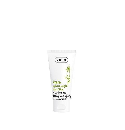 ZIAJA - Crema humectante y menta SPF6-50 ml