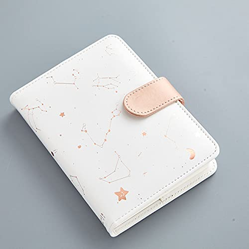 ATARSM Kids Diary Notebook Star Moon Leather Notebook Hardcover Paper Journal Diary Kids Gift Traveler Journal