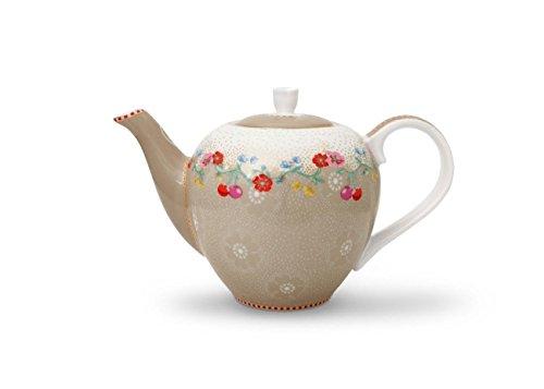 Pip Studio Teekanne small Tea Pot Cherry khaki