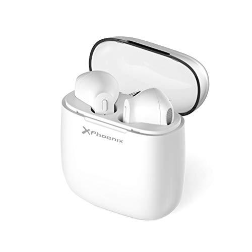 Phoenix Technologies, Auriculares Inalámbricos Bluetooth Mini Twins Estéreo In-Ear con Estuche de...