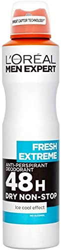 L'Oreal Paris Men Expert Men Expert Extreme Anti-Perspirant Deodorant, 250 ml