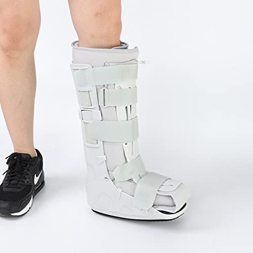 HZYAN 1 unids Espuma neumática Caminata Caminata Correa Protector ortesis del pie Férticos plantares Soporte de Apoyo para la Fractura del Tobillo del pie Esguince Muscular 422