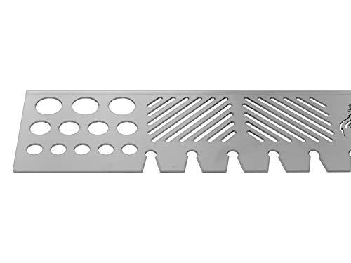 31xlGgLE+8L - Kettes Grillzubehör Edelstahl-Warmhalterost-Fuer-Gasgrills-von Napoleon (Napoleon Lex 730)
