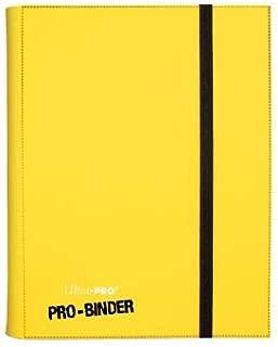 Ultra PRO 9-Pocket PRO-Binder Card Holder, Yellow