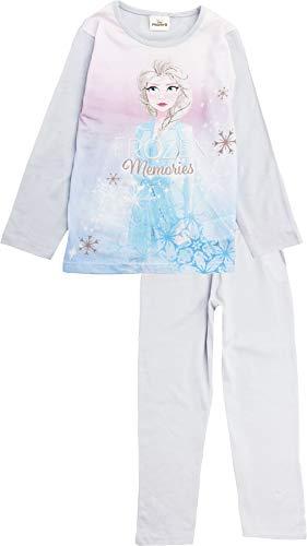 Disney Die Eiskönigin Mädchen-Pyjama-Set mit zauberhaftem Bio-Langarm, Gr. 4 Jahre,...