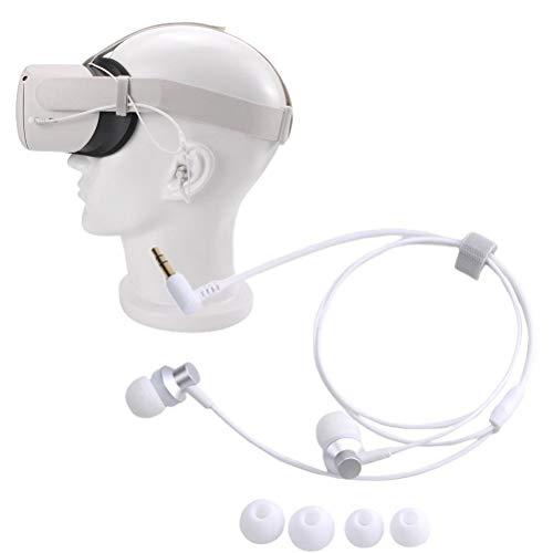 BSOA Auriculares intrauditivos con Aislamiento de Ruido compatibles con los Auriculares Oculus Quest 2 VR